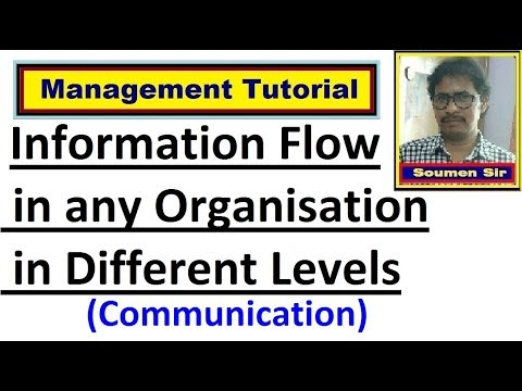 Information Flow In An Organization | Communication | Communication Channel