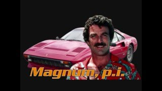 Magnum PI tv series with theme song