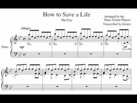 sheet music for how to save a life - Timiz.conceptzmusic.co