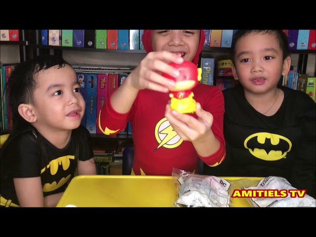 2018 Jolly Kiddie Meal JUSTICE LEAGUE