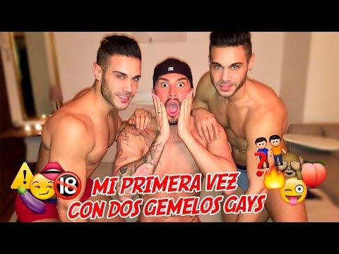 MI PRIMERA VEZ CON 2 GEMELOS GAYS 😱 By Andrea Suárez