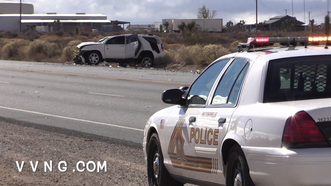 Car Splits In Two on Highway 395 Fatal Accident