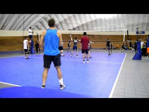 Vancouver Volleyball Thursday Mens League 2016-02-18 Court 1