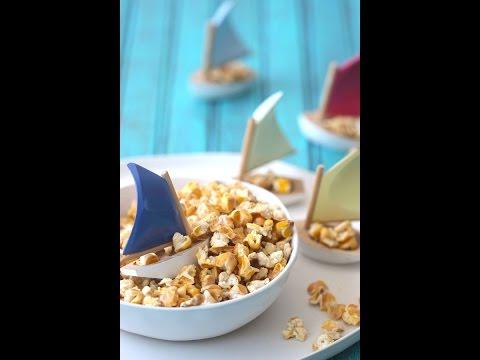 My New Favorite Snack! Half-popped Popcorn