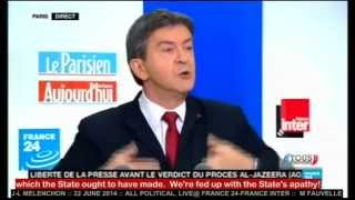 J-L MELENCHON :: 22 JUNE 2014:: Pt 1 of 3 :: ALL POLITICAL English subtitles