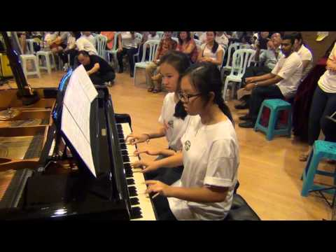 Chillax Music Charity Concert - Canon In D - Duet Jazz Version