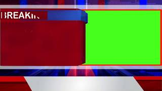 Breaking News  Green Screen Animation Design free by AR Graphics