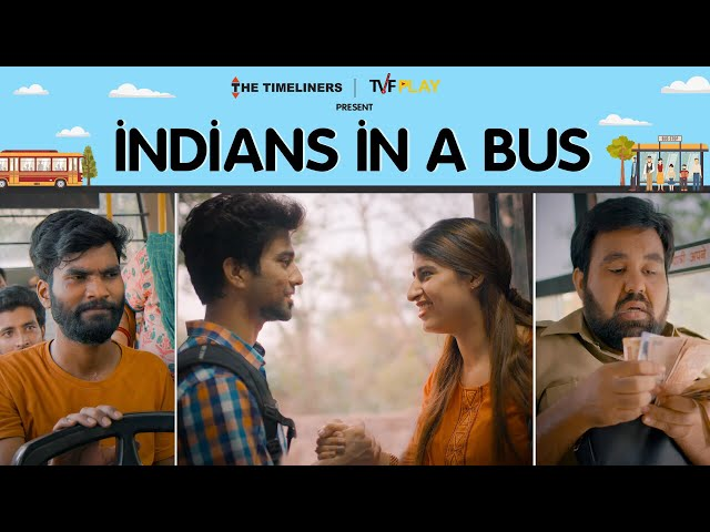 Indians In A Bus | भईया दादरी जाएगी? | The Timeliners
