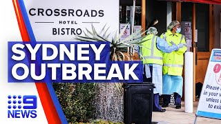 Coronavirus: Gatherings warning amid Crossroads Hotel outbreak | 9 News Australia