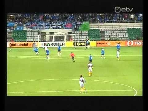 Estonia 2:0 Belgium 2009