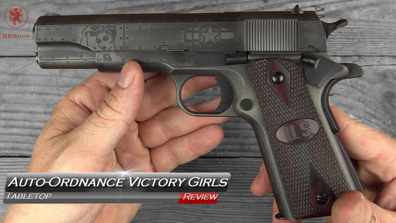 6db6262875bb Auto Ordnance Victory Girls 1911 Tabletop Review and Field Strip ...