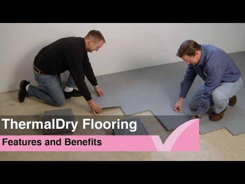 ThermalDry floor waterproofing