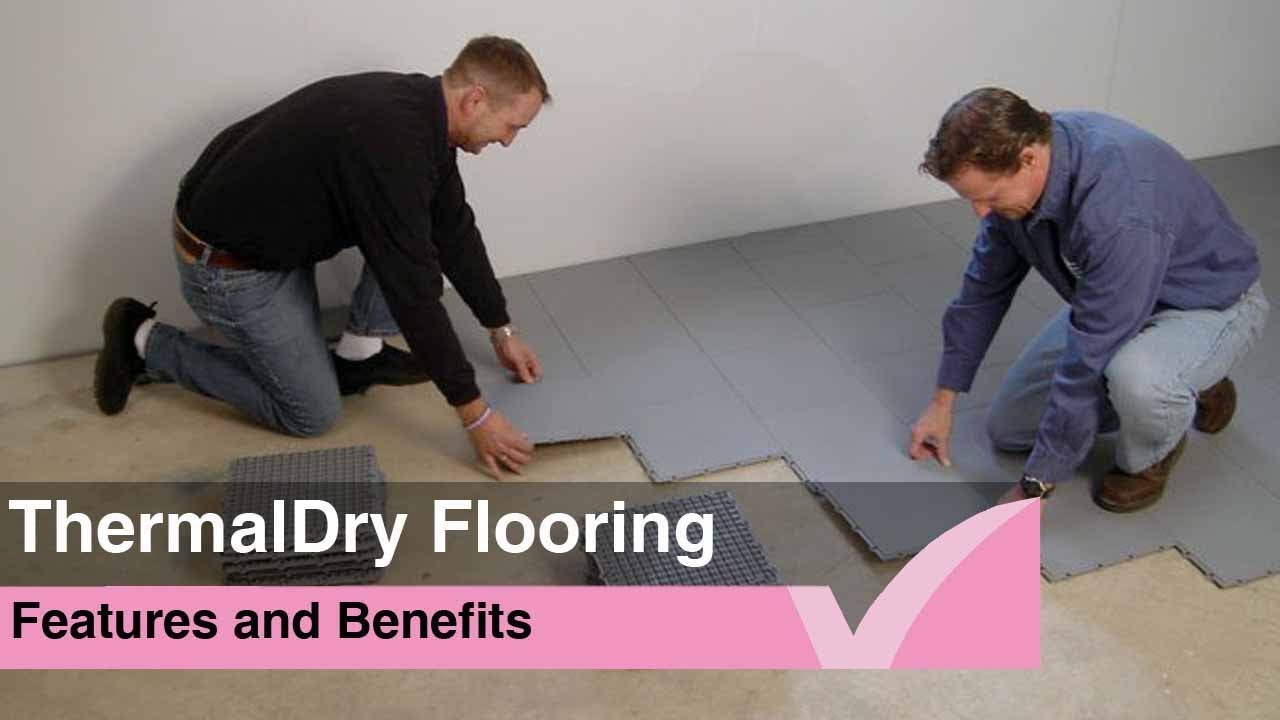 Thermaldry Floor Waterproofing Youtube