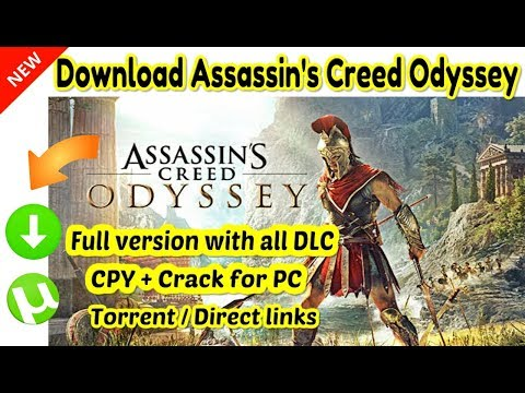 How to Download Assassin's Creed Odyssey + All DLC | CPY + Crack for