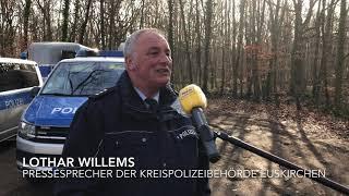 Landesreiterstaffel NRW im Billiger Wald