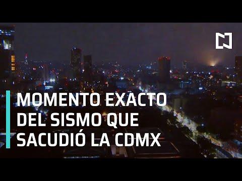 Sismo en Guerrero 2021 | Momento exacto del sismo en CDMX 2021 - LasNoticias
