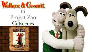 Wallace & Gromit in Project Zoo PS2 Cutscenes