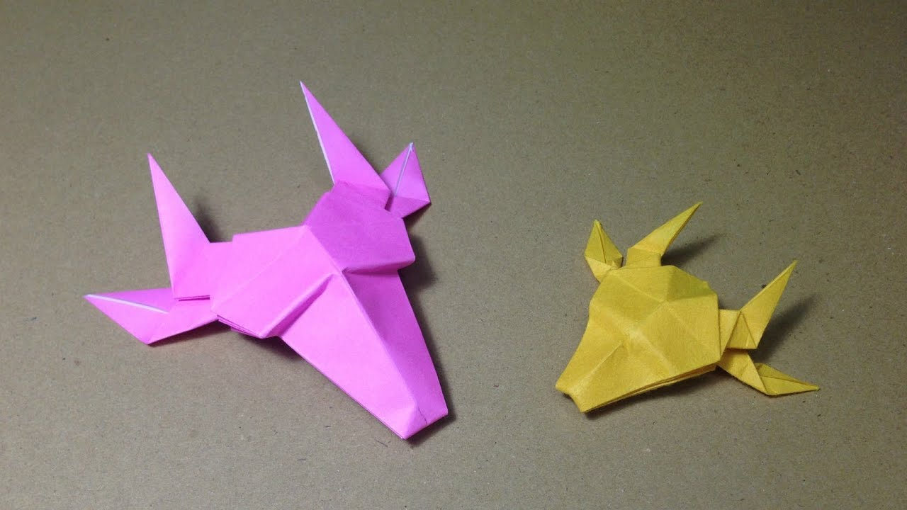 How To Make A Paper Animals Origami Giraffe