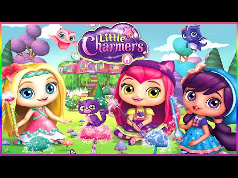 💫 Little Charmers Sparkle Up Game for Children: Have a magic makeover with Little Charmers: Sparkle Up! Create your very own Little Charmers scenes by casting spells to color rooms, change locations and arrange charming props! Tap on objects in a scene and watch as they magically transform!   Please SUBSCRIBE to see when are posted NEW Toons Universe Video