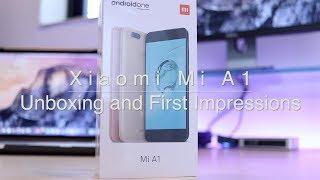 Xiaomi Mi A1 Black Unboxing and First Impressions! (4GB + 64GB)
