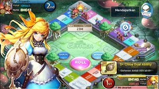 Line Let's Get Rich : S+ Chloe Gameplay