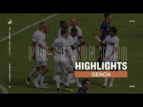 ⚽️Highlights: Genoa v Swansea City | Interwetten Cup