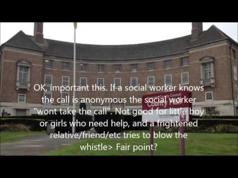 Call to Somerset County Council Social services childrens team 0300 video