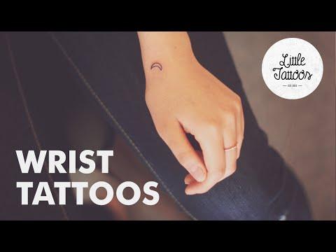 16 Wrist Tattoo Ideas