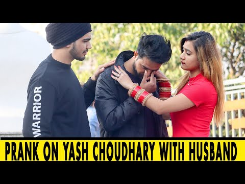 Prank On Yash Choudhary With Fake Husband | Rits Dhawan