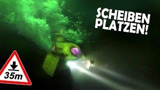 Unser Badewannen U-Boot IMPLODIERT! | Scheiben platzen! R.I.P. Anna Nass #7