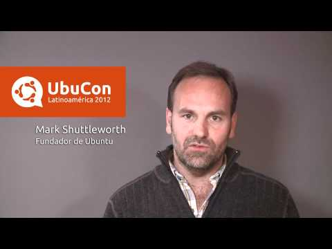 Apertura UbuCon Latinoamerica 2012 con Mark Shuttleworth