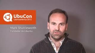 Apertura UbuCon Latinoamerica 2012 con Mark Shuttleworth