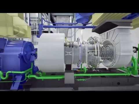 UE4 Realtime Industrial Archviz - Steam/Gas Turbine Power Station