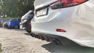 mazda 6 custom exhaust autoexe panamera pipe muffler tip