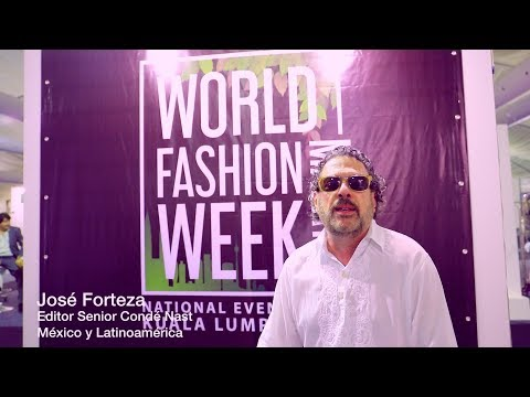WORLD FASHION WEEK INTERVIEW WITH JOSE FORTEZA  - EDITOR OF VOGUE MEXICO & CONDE NAST LATIN AMERICA