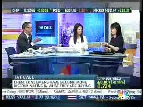 "Selling Jewelry with CIRCA on CNBC Asia's ""The Call"""