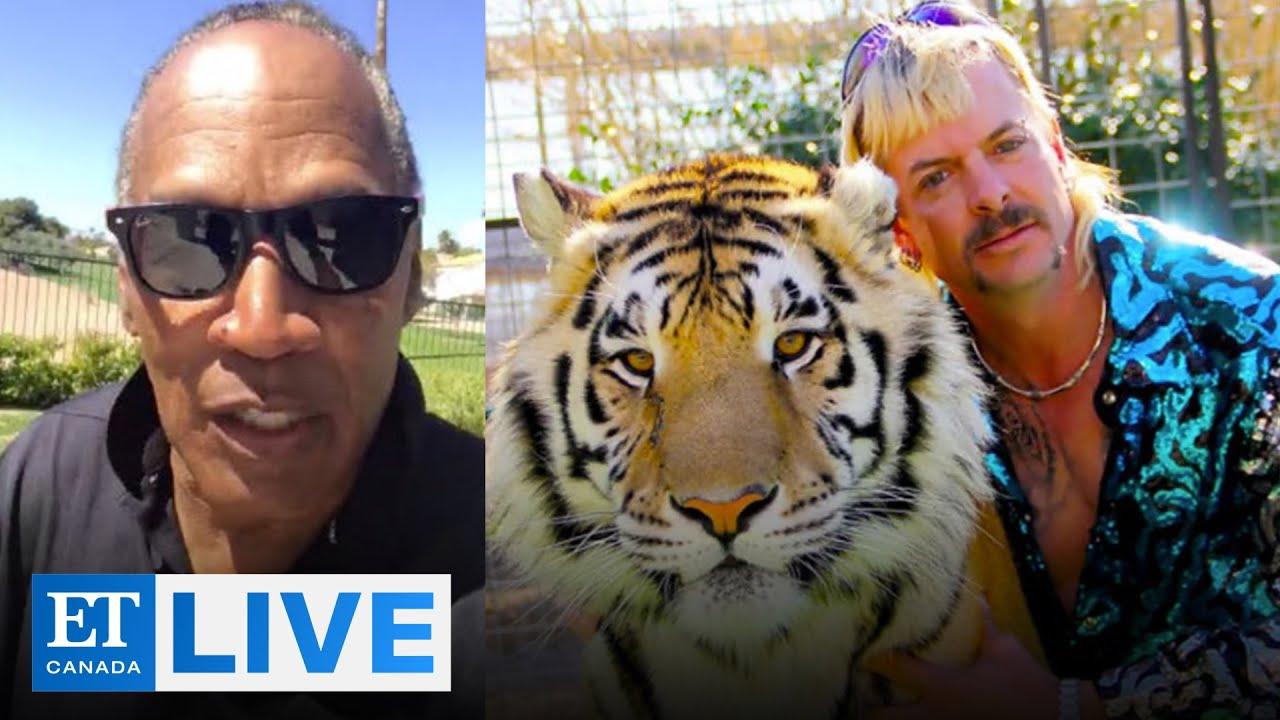 OJ Simpson Reacts To 'Tiger King'