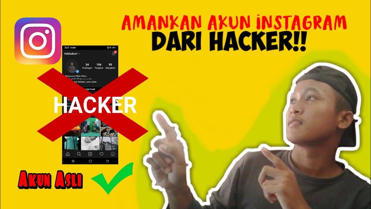 Cara Mengamankan Akun Instagram Agar Tidak di Hack!! - YouTube