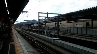 福知山駅の117系団体列車!!
