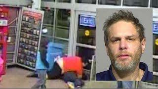 Shopper bodyslams suspected shoplifter
