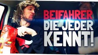 BEIFAHRER, DIE JEDER KENNT