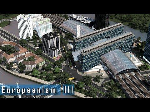Cities: Skylines - E u r o p e a n i s m : III - Trams and modern development experimentation