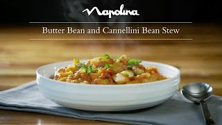 Butter Bean and Cannellini Bean Stew