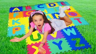 Nursery Rhymes & Kids ABC Phonics Songs with funny Milana and Aaron