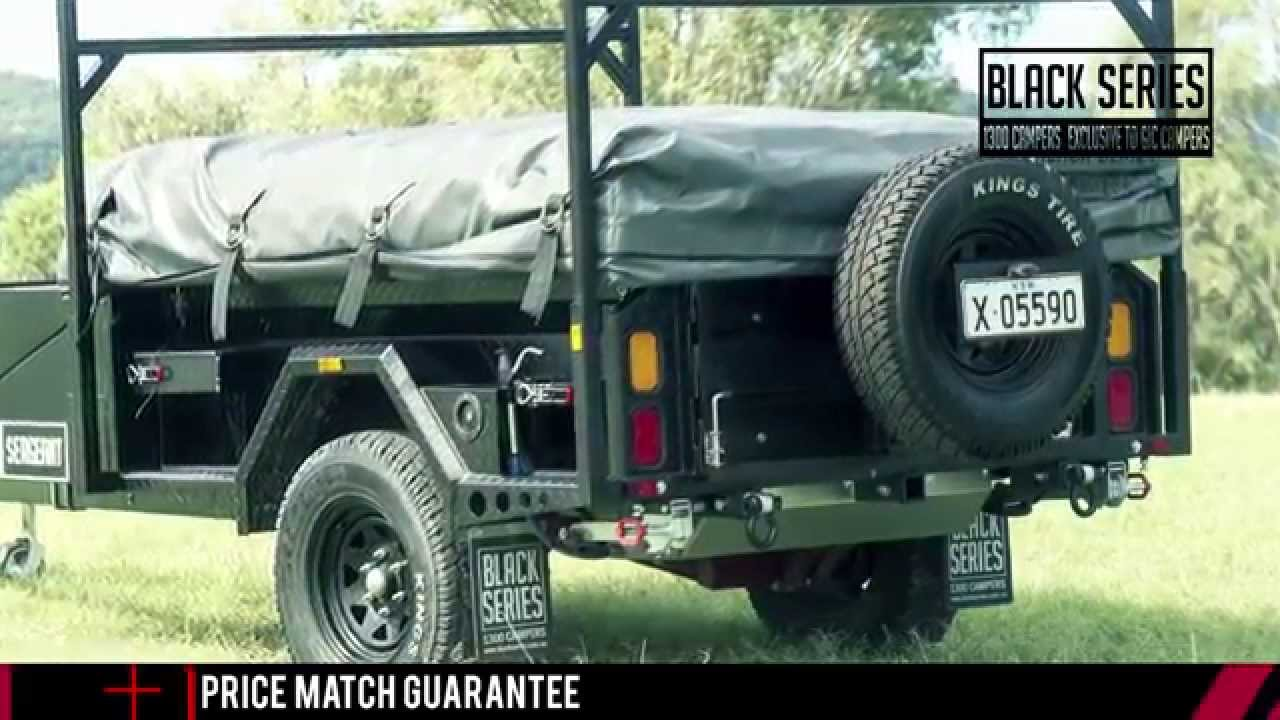 Sergeant black series camper trailer walkthrough