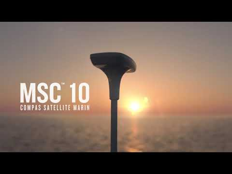 Garmin présente le compas satellite marin Garmin MSC 10