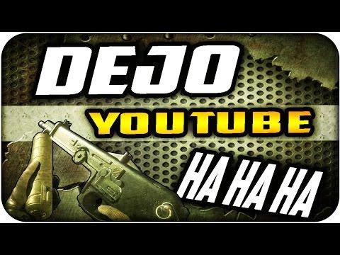 Arrojadizo ÉPICO en LIVE!! Dejo Youtube HAHAHAHA - MW3 Infectado-