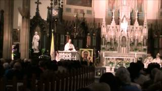 Saint Patrick Basilica, March 18, 2014  - Fr  Peter West