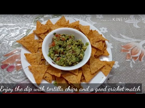 Easy Recipe For Guacamole ( Avocado  / Butter Fruit Dip)