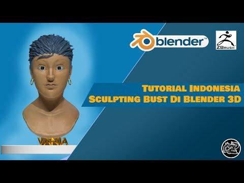Full Download] 3d Blender Modeling Wajah 1